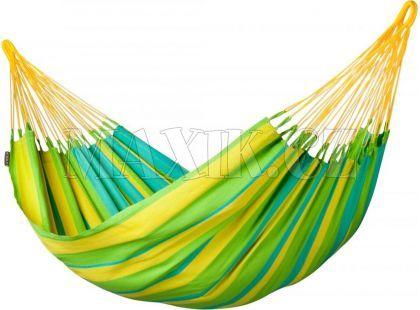 La Siesta Houpací síť Sonrisa Lime