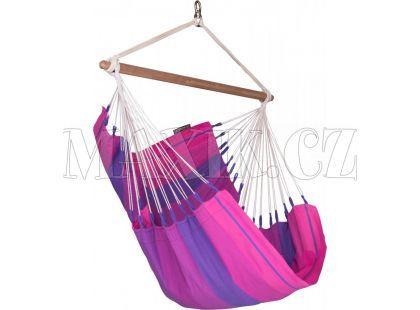 La Siesta Houpací sedačka Orquidea Purple