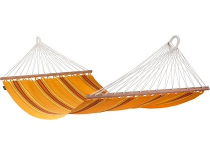 La Siesta Houpací síť s tyčemi Currambera Apricot