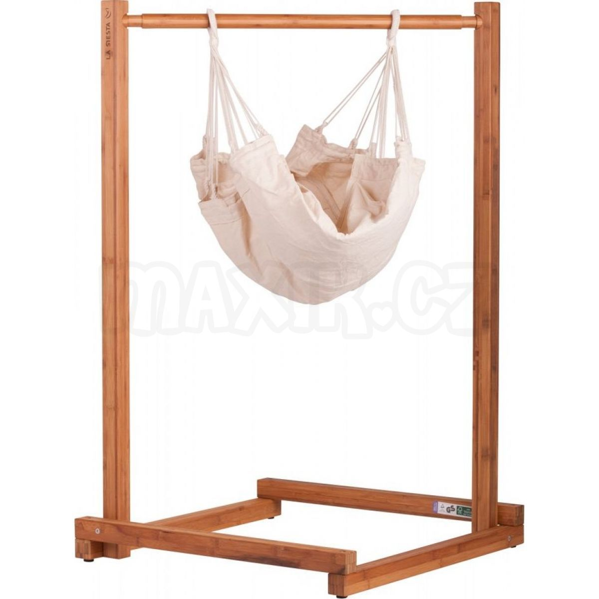 la siesta kojeneck houpac s se stojanem yayita max kovy hra ky. Black Bedroom Furniture Sets. Home Design Ideas