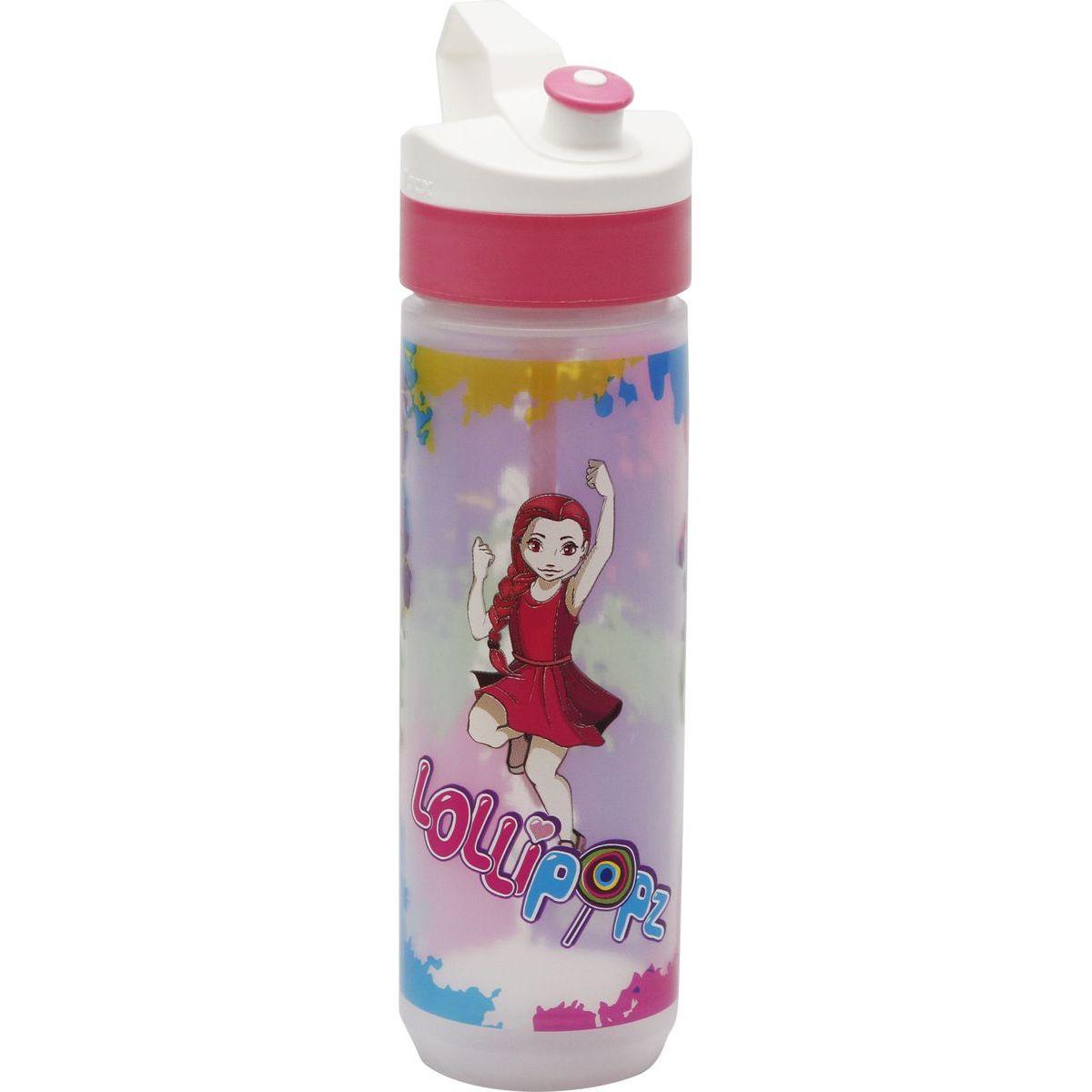 Láhev Lollipopz růžová Laura