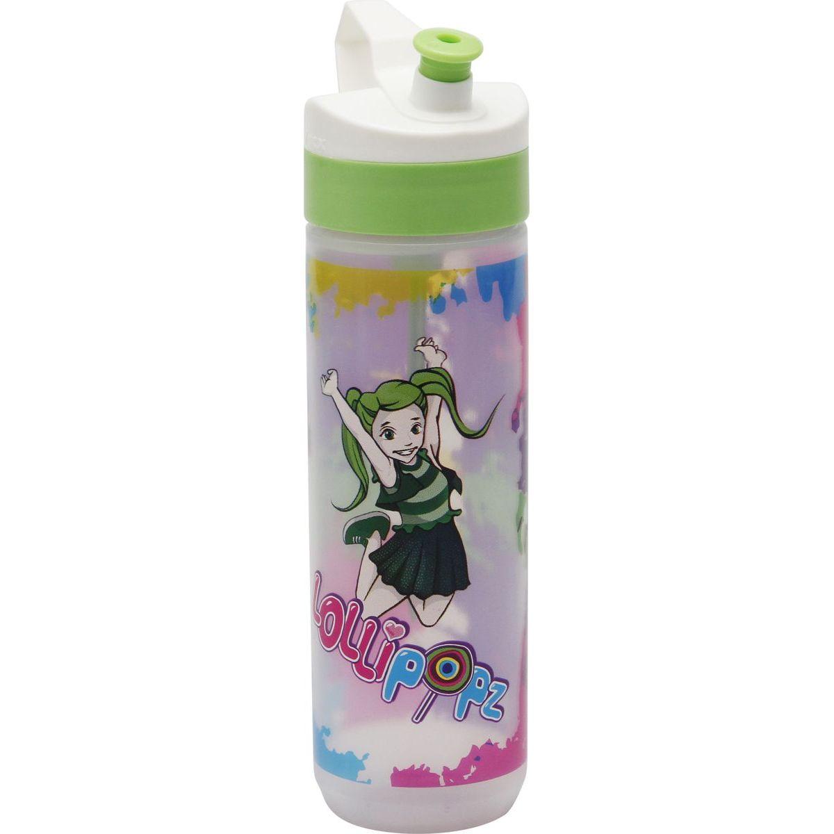 Láhev Lollipopz zelená Ela