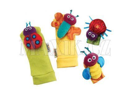 Lamaze Chrastící Ponožky a náramky