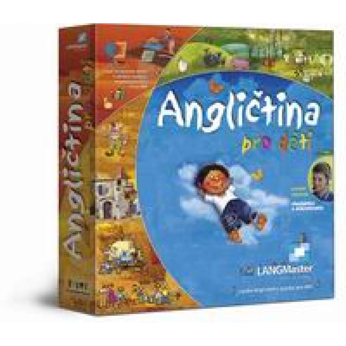 Langmaster Angličtina pro děti