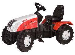 Šlapací traktor Steyr CVT 170 - červenobílý