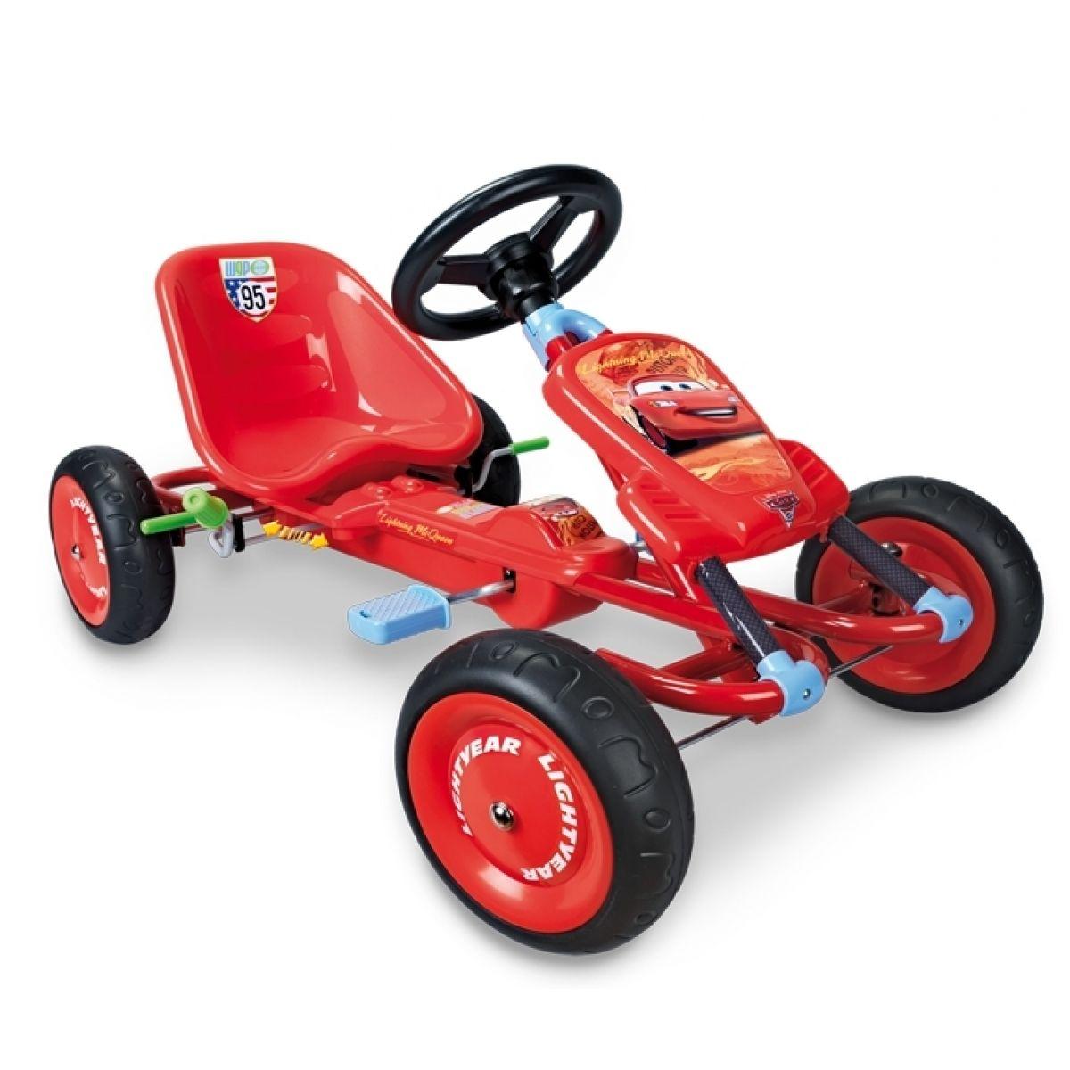 Šlapací čtyřkolka CARS Go Kart Smoby 459104