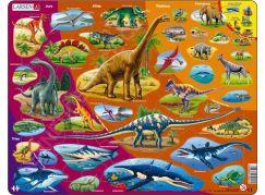 Larsen Puzzle Dinosauři 2