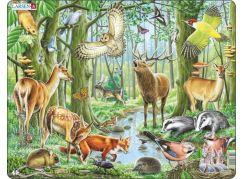 Larsen Puzzle Evropský les