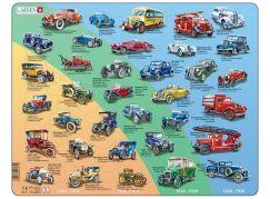 Larsen Puzzle Historická auta - veteráni