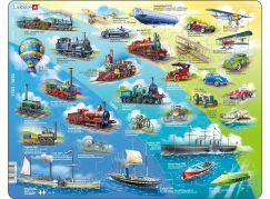 Larsen Puzzle Historie Pohybu s motorem