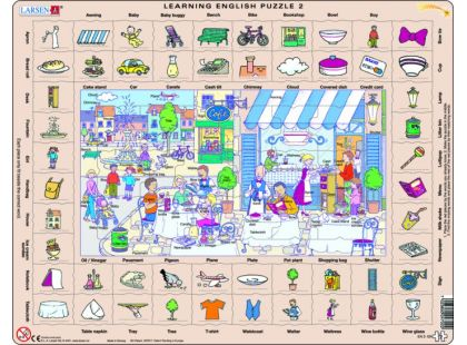 Larsen Puzzle Hodina angličtiny II.