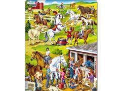 Larsen Puzzle Koně
