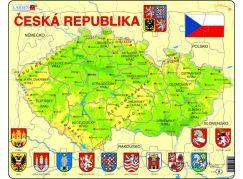 Larsen Puzzle mapa České Republiky
