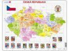 Larsen Puzzle mapa České Republiky 2