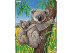 Larsen Puzzle Medvídek Koala s mládětem
