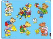 Larsen Puzzle Medvídek Teddy