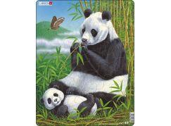 Larsen Puzzle Panda s mládětem