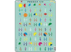 Larsen Puzzle Počítání - zlomky