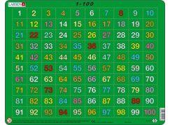 Larsen Puzzle počítání od 1 do 100