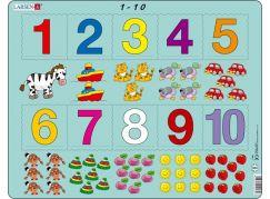 Larsen Puzzle počítání pro nejmenší s čísly