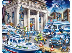 Larsen Puzzle Policie Loupež v bance