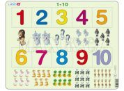 Larsen Puzzle počítání pro nejmenší s obrázky