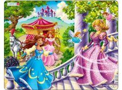 Larsen Puzzle Tři princezny + 2 létající víly