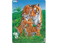 Larsen Puzzle Tygřice s malými tygry