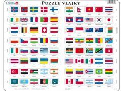 Larsen Puzzle Vlajky světa