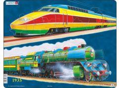 Larsen Puzzle Vlaková doprava