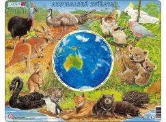 Larsen Puzzle Zvířata Austrálie