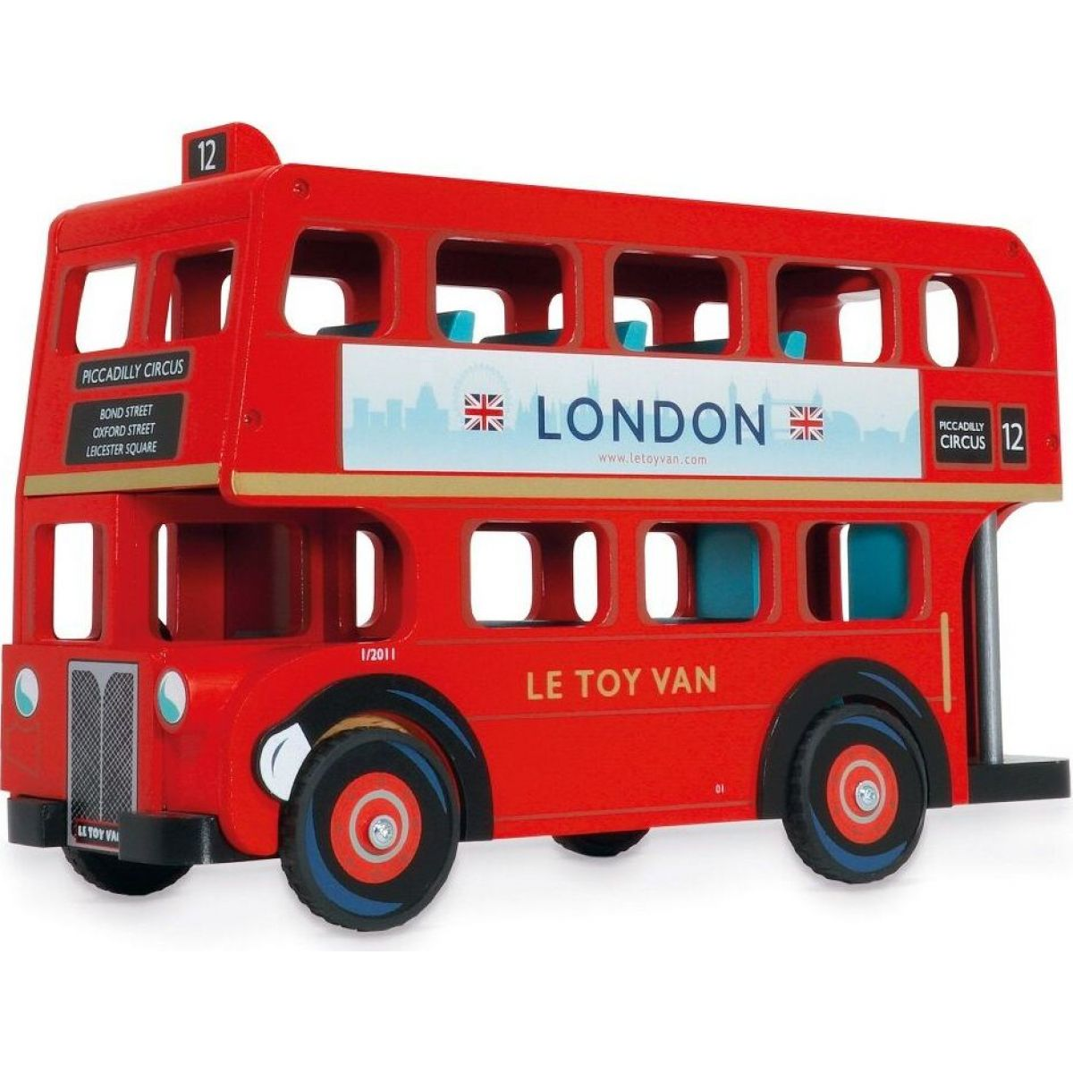Le Toy Van Autobus London - Poškozený obal