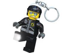 LEDLite LEGO Movie Zlý polda Svítící klíčenka
