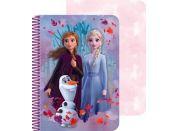 Ledové království II 3D zápisník A5 60 listů sestry
