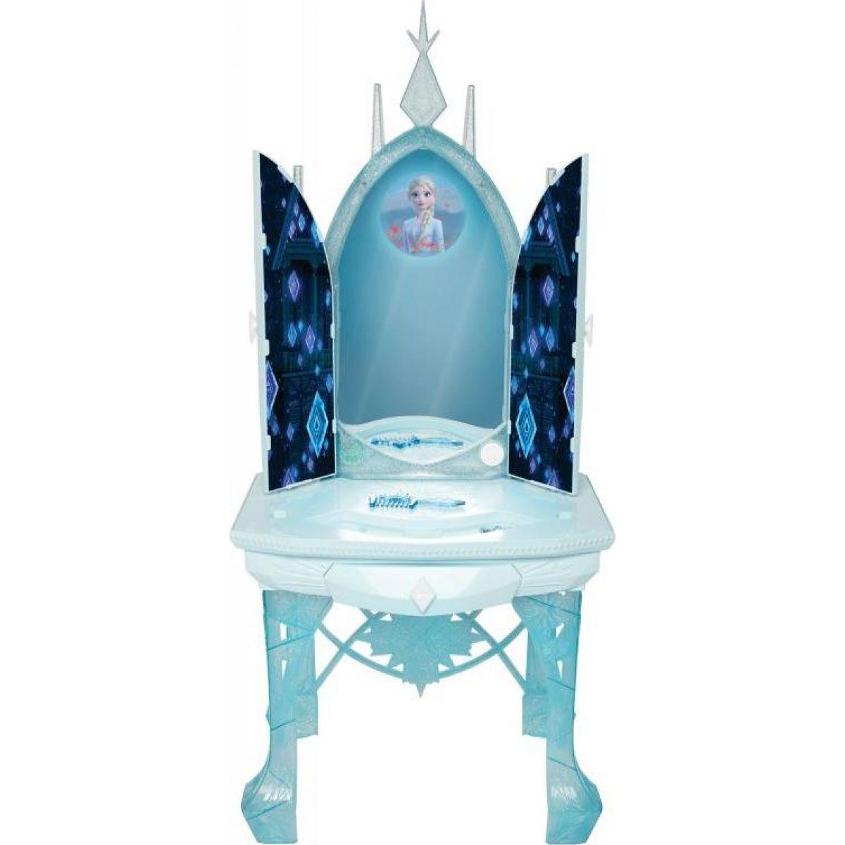 Ledové království II Elsin ledový kosmetický stolek