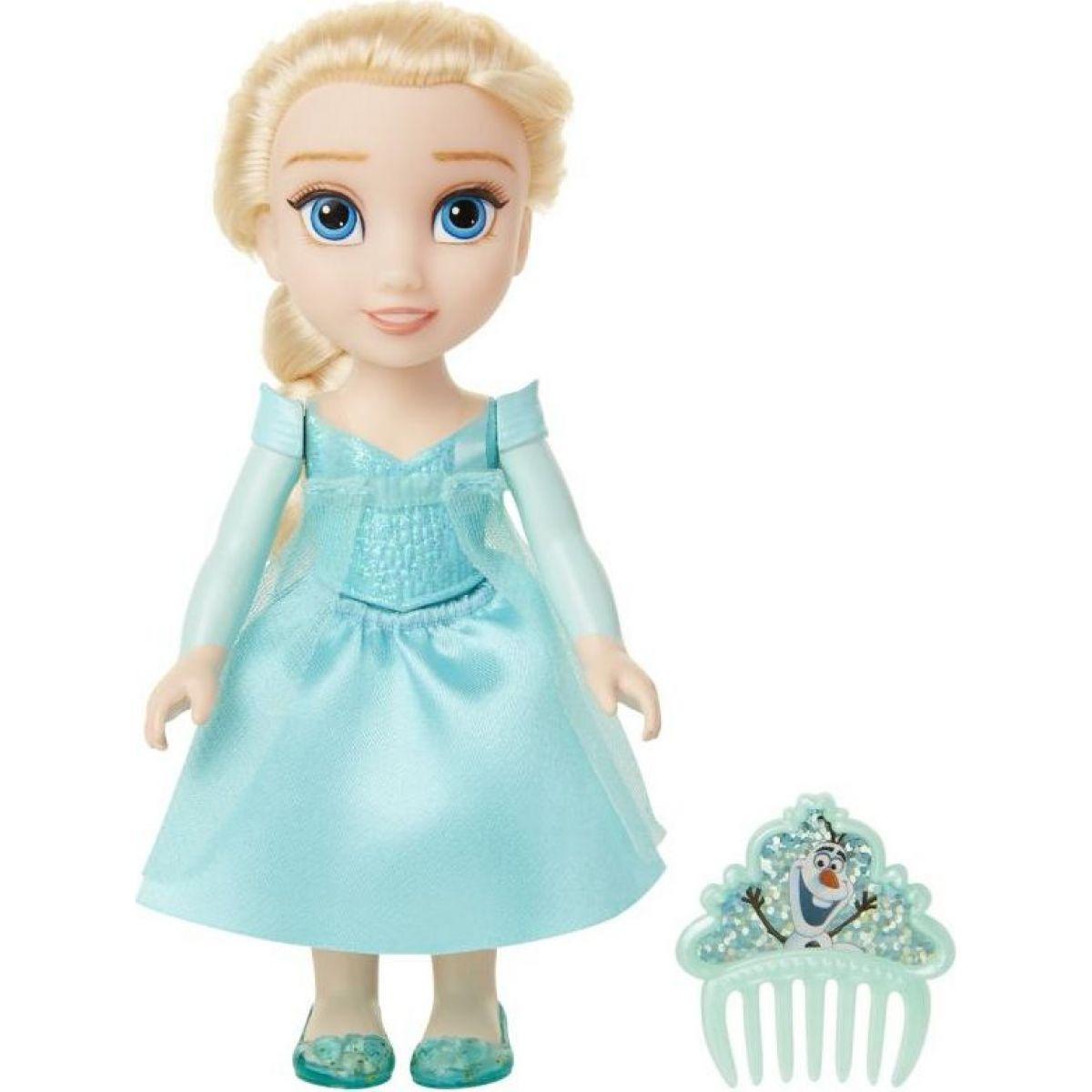 Ledové království II panenka 15 cm s hřebínkem Elsa