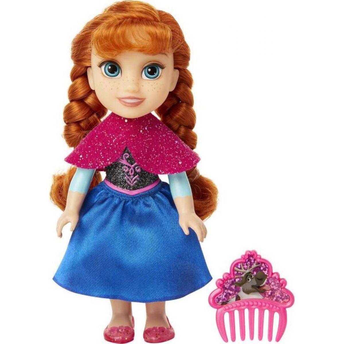 Ledové království II panenka 15 cm s hřebínkem Anna
