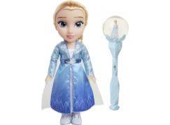 Ledové království II panenka a sněhová hůlka Elsa