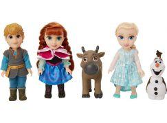 Ledové království II Velký set s figurkami Anna, Elsa, Olaf, Kristof 15 cm