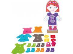 Legler Oblékací panenka s pomocí vyšívání