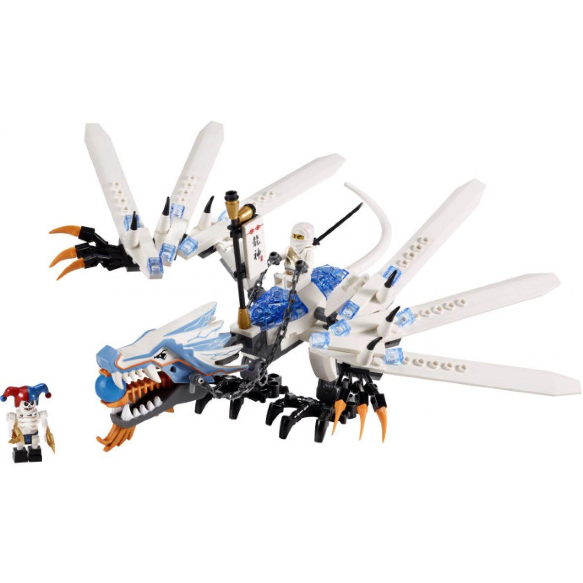 LEGO 2260 Ninjago Drak ledu útočí