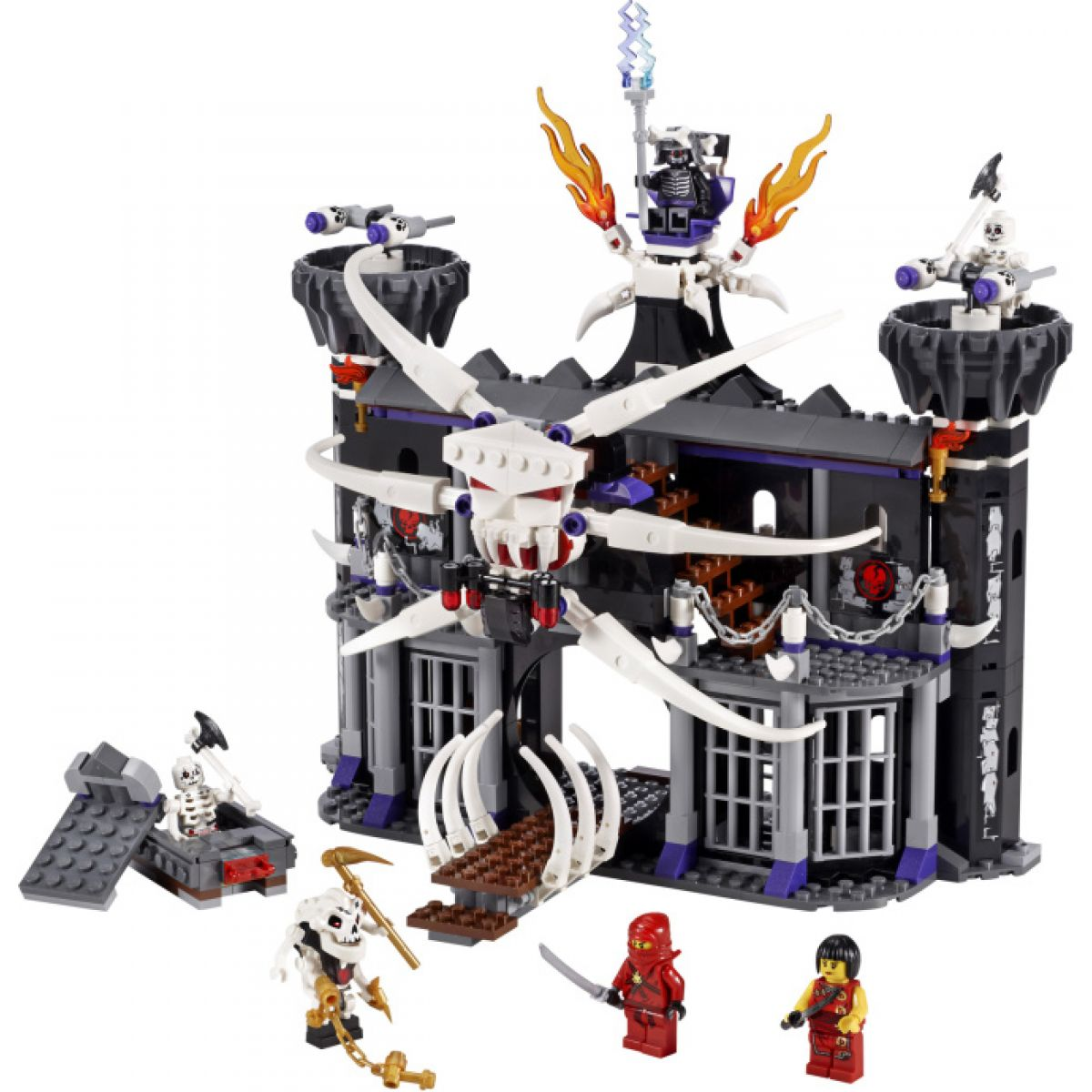 LEGO 2505 Ninjago Garmadonova temná pevnost