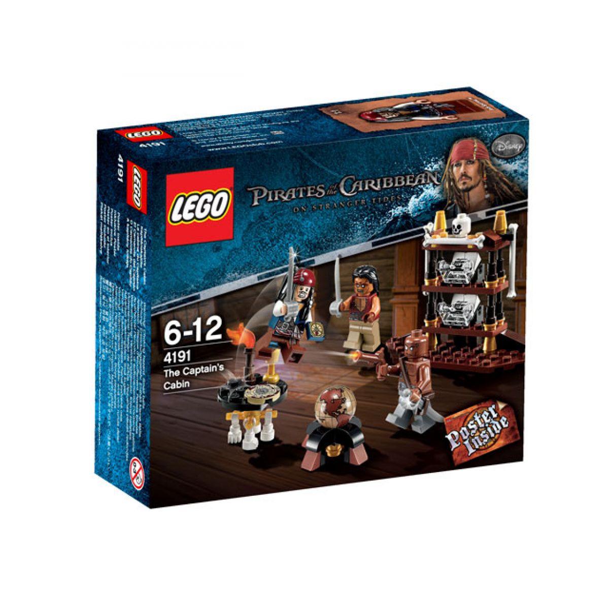 LEGO 4191 Piráti z Karibiku Kajuta kapitána