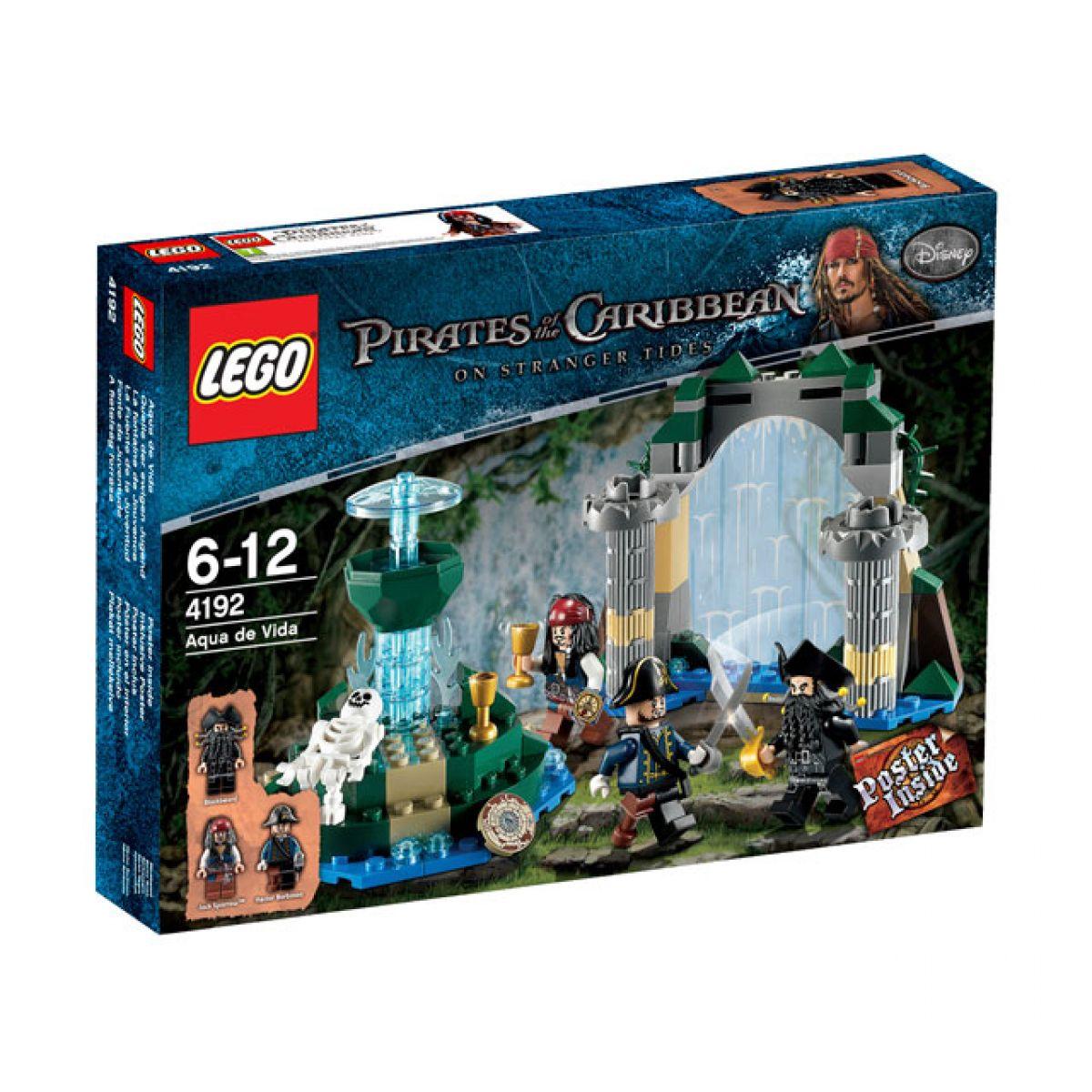 LEGO 4192 Piráti z Karibiku Fontána mládí