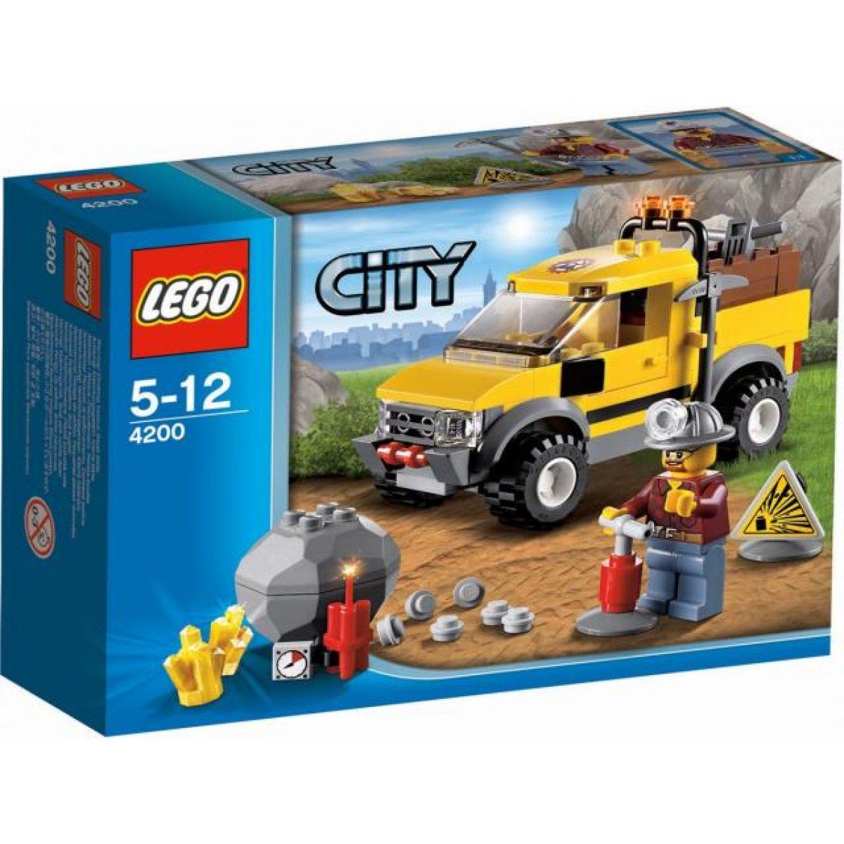 LEGO 4200 City Těžba 4x4