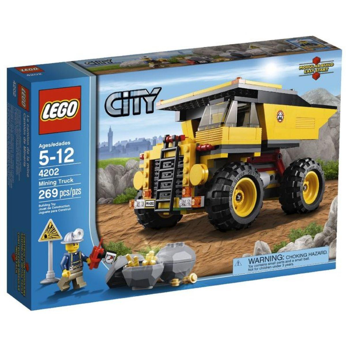 LEGO 4202 Těžební nákladní vůz