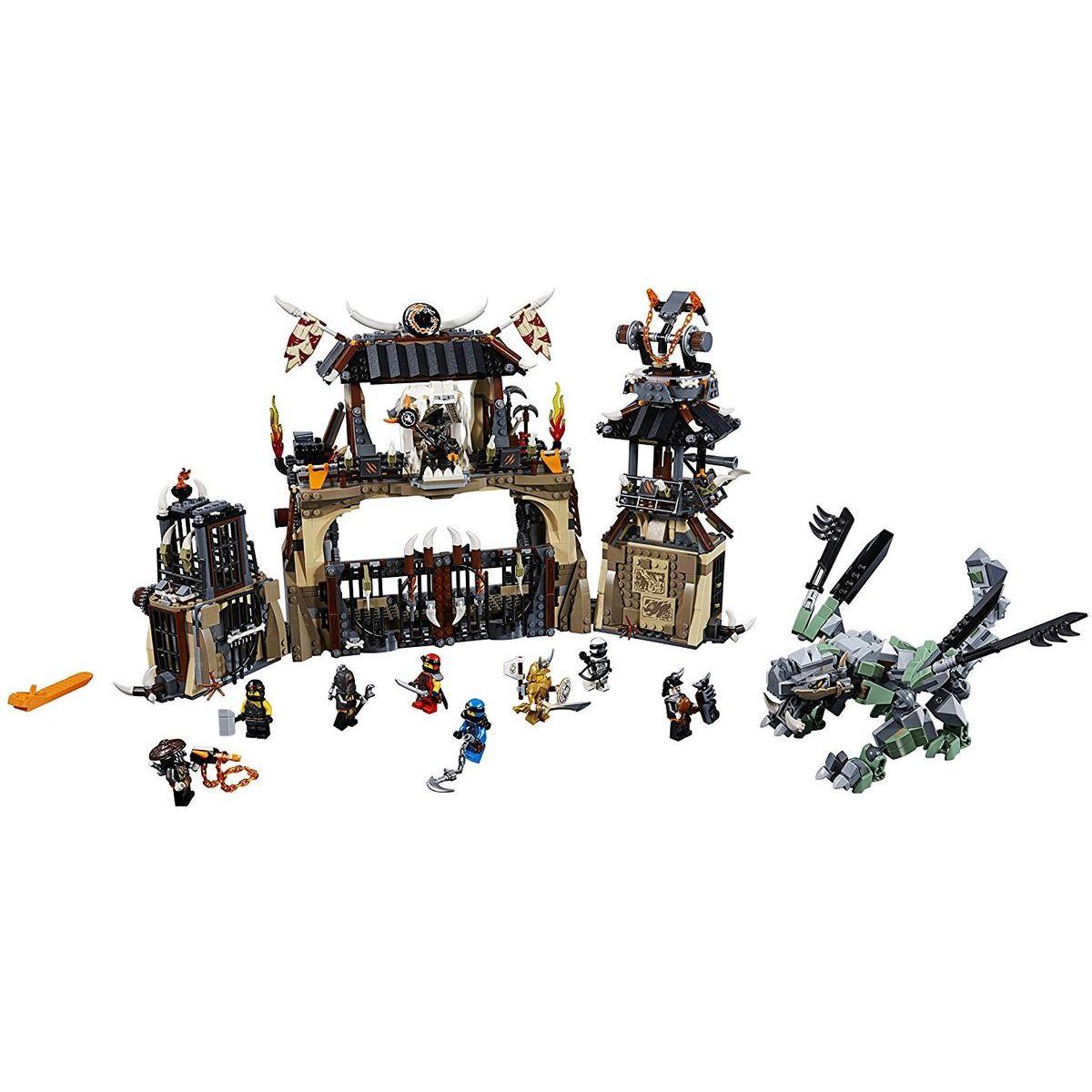 LEGO 70655 Ninjago Dračí jáma - Poškozený obal