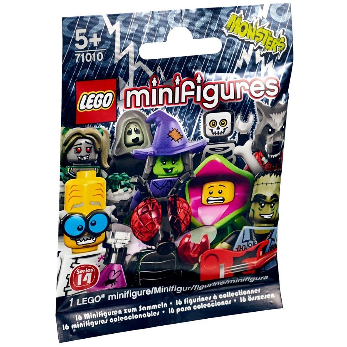 LEGO 71010 Minifigurky 14. série Příšery