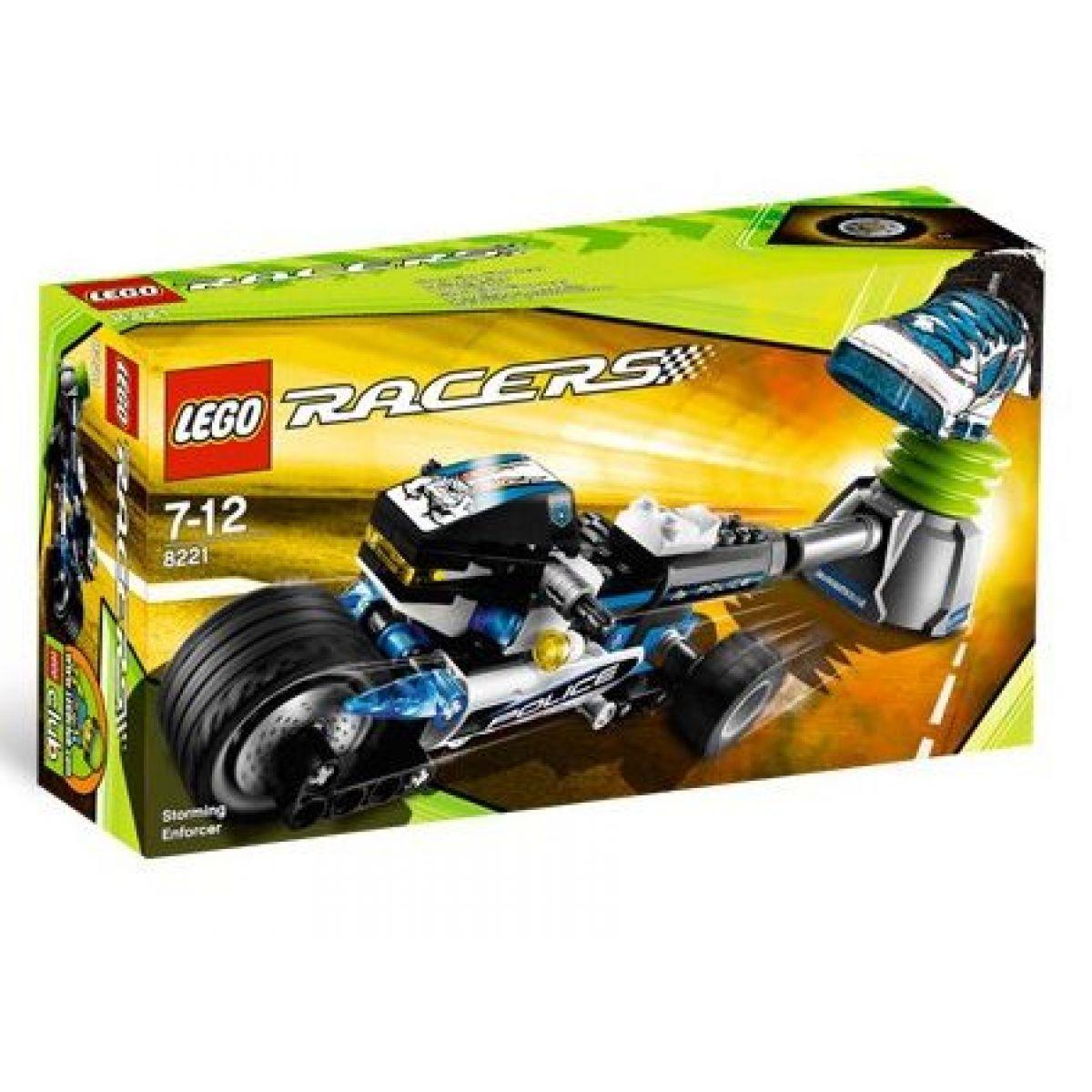 LEGO 8221 RACERS Policejní trojkolka