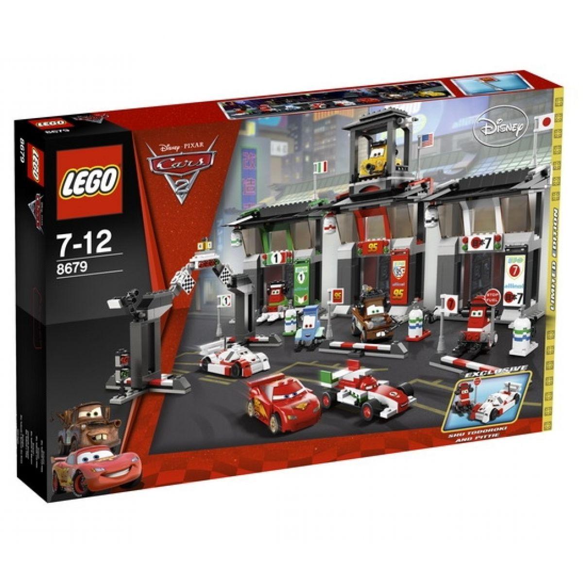 LEGO 8679 CARS Mezinárodní závody